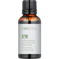 CBD Vital Schlaftropfen Mikronährstoffkomplex / 30 ml