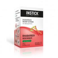 INSTICK Rhabarber - zuckerfreies Instant-Getränk - Größe S / 12 Sticks