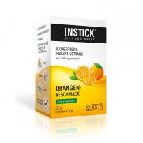 INSTICK Orange - zuckerfreies Instant-Getränk - Größe S / 12  Sticks