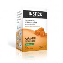 INSTICK Karamell - zuckerfreies Instant-Getränk - Größe S / 12 Beutel