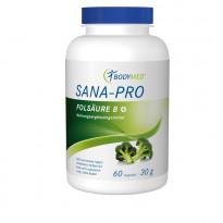 SANA-PRO Folsäure B+ / 60 Kapseln