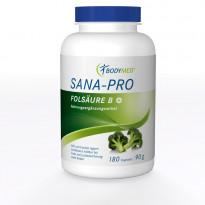SANA-PRO Folsäure B+ / 180 Kapseln