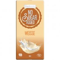 Frankonia No Sugar Added Weiße Schokolade / 80 g Tafel