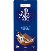 Frankonia No Sugar Added Nougat Schokolade / 100 g Tafel
