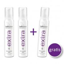 Callusan EXTRA  2+1 Aktion - Cremeschaum / 3 x 125 ml