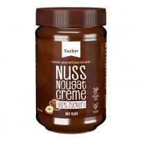 Xucker Nuss-Nugat-Creme mit Xylit 300 g - Aufstrich / 1 Glas