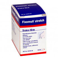 Fixomull stretch 5 cm x 10 m -  hypoallergenes Klebevlies / 1 Rolle