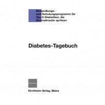 Diabetes-Tagebuch-Blau