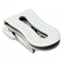 Clip-Silikon-Weiß