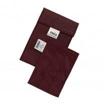 FRIO Pumpen Tasche Farbe Weinrot - Kühltasche für Insulinpumpe / 1 Stück