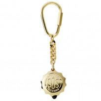 SOS-Schlüsselanhänger-Gold