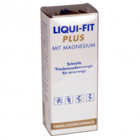 Liqui-Fit Plus Magnesium Vanillegeschmack - flüssige Traubenzuckerenergie  / 12  Beutel
