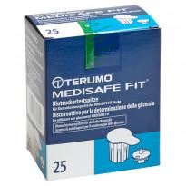 Terumo MEDISAFE FIT Blutzuckertestspitzen - Teststreifen / 25 Stück