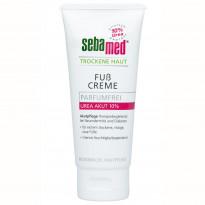 sebamed Trockene Haut parfümfrei - Fußcreme Urea Akut 10 % - Creme / 100 ml