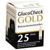 Aktivmed GlucoCheck GOLD - Blutzuckerteststreifen / 25 Stück