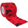 autsch & go Fixiertape rot mit Schmetterlingen 5 cm x 4,5 m - Fixierung für Pod/Sensor / 1 Rolle