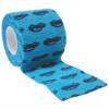 autsch & go Fixiertape blau mit Autos 5 cm x 4,5 m - Fixierung für Pod/Sensor / 1 Rolle