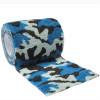 autsch & go Fixiertape Camouflage blau 7,5 cm x 4,5 m - Fixierung für Pod/Sensor / 1 Rolle
