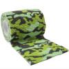autsch & go Fixiertape Camouflage grün 7,5 cm x 4,5 m - Fixierung für Pod/Sensor / 1 Rolle