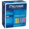 MICROLET bunt - sterile Lanzetten / 200 Stück