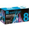 Wellion MEDFINE plus 8 mm 31G - Pennadeln / 100 Stück