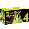 Wellion MEDFINE plus 4 mm 32G - Pennadeln / 100 Stück