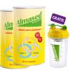 2 x Almased Vitalkost + Shaker GRATIS - Nahrungsergänzung / 1 Set