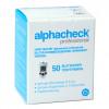 Alphacheck professional - Blutzuckerteststreifen / 50 Stück