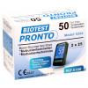 Biotest PRONTO - Blutzuckerteststreifen / 50 Stück