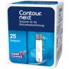 CONTOUR NEXT Sensoren - Blutzuckerteststreifen / 25 Stück
