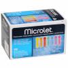MICROLET bunt - sterile Lanzetten / 100 Stück