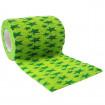autsch & go Fixiertape grün mit Sternen - 7,5 cm x 4,5 m - Fixierung für Pod/Sensor / 1 Rolle