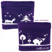 Junior Belly one Bauchgurt XS 50 - 56 cm winterwonder polar lilac - für alle Pumpen / 1 Stück