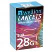 Wellion 28G Lanzetten - sterile Lanzetten / 200 Stück