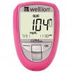 Wellion LUNA Duo pink mg/dl - Blutzuckermessgerät / 1 Set