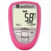 Wellion LUNA Duo pink mmol/L - Blutzuckermessgerät / 1 Set