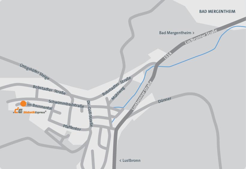 Anfahrt Bad Mergentheim